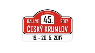 45. Rallye Český Krumlov 2017