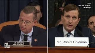 WATCH: Rep. Doug Collins' full questioning of committee lawyers | Trump's first impeachment
