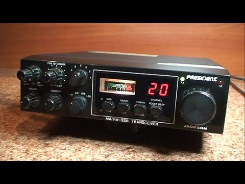 Tuning & Repair CB Radio SSB President Jackson & Alinco DR 135 DX # 2