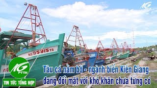 Gambar cover Tin tức l Tàu cá nằm bờ-ngành biển Kiên Giang đang đối mặt với khó khăn chưa từng có l THKG