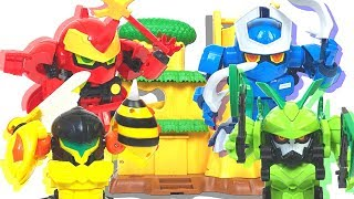 【MUSHININ】Toys that transform from insects to ninjas