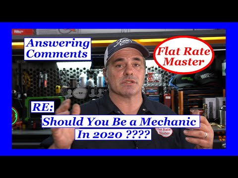 RE Should You Be A Mechanic In 2020