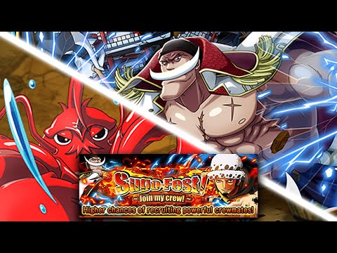 [One Piece Treasure Cruise] SUGOFEST! LOBSTERS! SEAFOOD EXTRAVAGANZA! QCK CHARACTERS!
