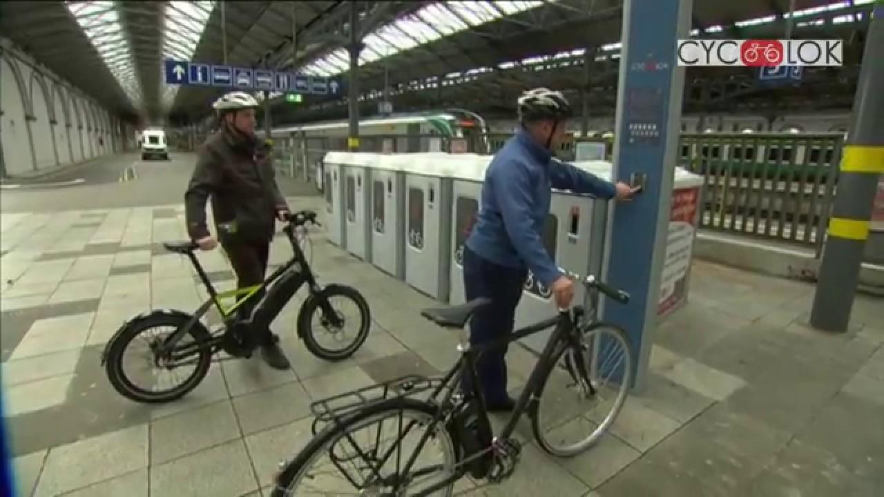 Cyc Lok S Smart Bike Lockers Featured On Rte S Nationwide Youtube