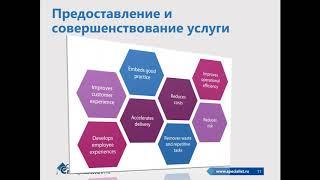 Предоставление ИТ услуг как создание локальных ценностей для заказчика и потребителей