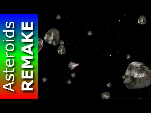 The Best REMAKE of Asteroids - New Free Game