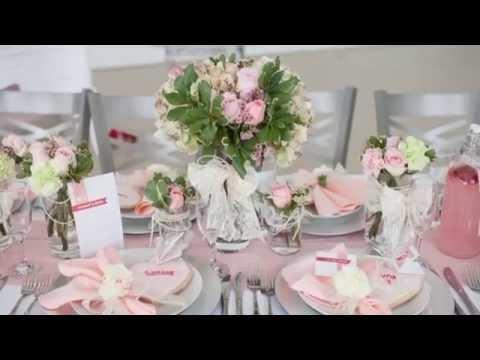 Deco table mariage id es de d coration de table pour mariage - Deco de table mariage a faire sois meme ...