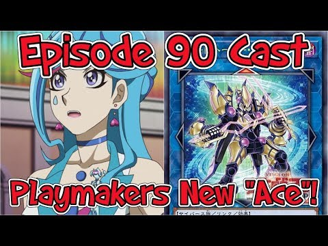 """Yu-Gi-Oh VRains: Episode 90 Cast + Playmakers """"New Ace""""!"""