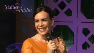 Maria Clara Spinelli no evento 'Mulheres Na Mídia'