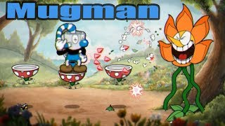 Cuphead Cagney Carnation With Mugman Only (Mugman Time)