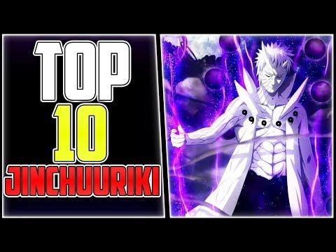 Top 10 stärkste Jinchuuriki | Naruto