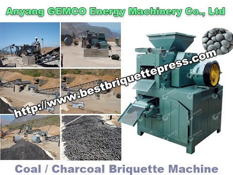 Coal Briquetting Plant Guide—charcoal dust, coal dust, coke dust, carbon black