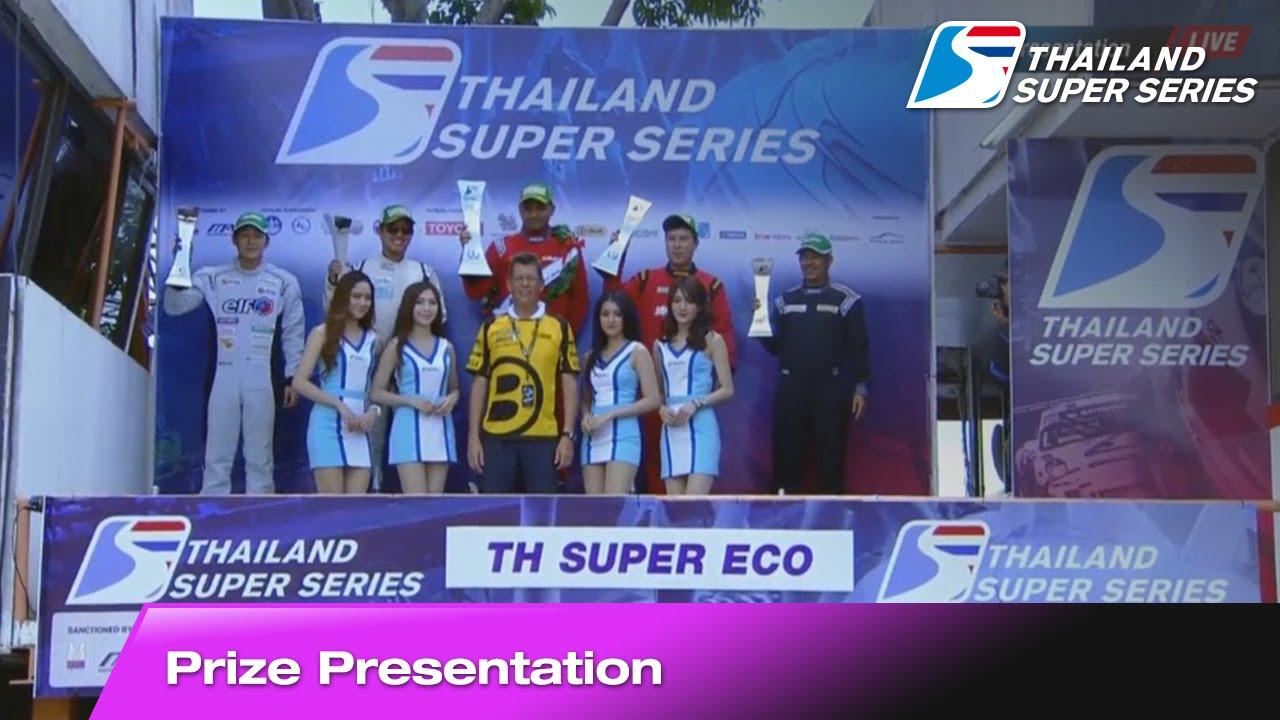 Prize Presentation Thailand Super Eco Round 5 | Bira International Circuit