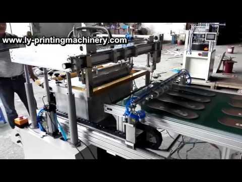 insole full screen printer  silk screen printing machine for Shoe insole
