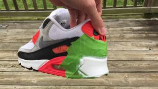 Air Max 90 Infrared Restoration