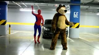 Гангнам стайл Маша и Медведь пародия (gangnam style Masha & Bear) очень смешно!!!(, 2014-10-13T05:57:15.000Z)