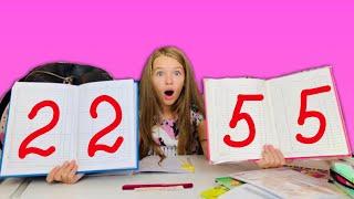 ОПЯТЬ ДВОЙКА ? - Собираю Рюкзак ПРАВИЛЬНО BACK TO SCHOOL / Ожидание реальность / Видео от НАША МАША