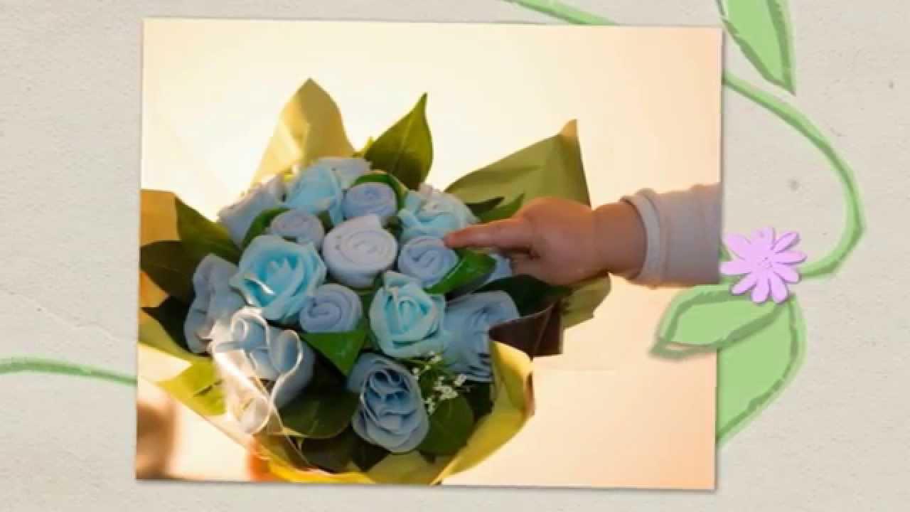 Comment Faire Un Bouquet De Roses bouquets de naissance trompe l'oeil de fripoune