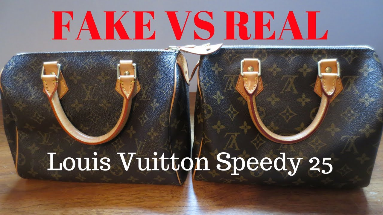 Fake Vs Real Louis Vuitton Monogram Sdy 25 Handbag Comparison And Authentication