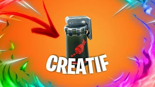 SEE the AERIENNE FRAPPE in CREATIF on FORTNITE (Glitch season 9 )