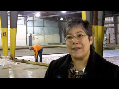 Central Illinois Foodbank prepares its new warehouse