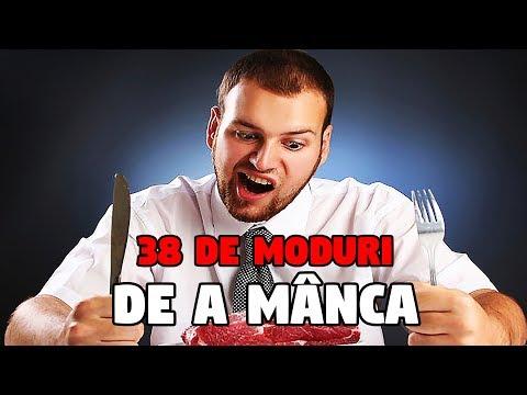 38 DE MODURI DE A MÂNCA (PARODIE)