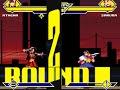 Athena (me) vs Sakura Kasugano MUGEN BATTLE