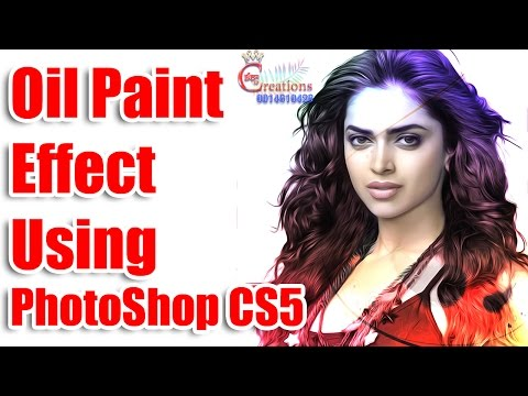 Oil Paint , Digital Painting Effect in Photoshop CS5