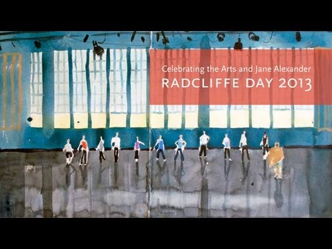 Jane Alexander, 2013 Radcliffe Day Medalist || Radcliffe Institute