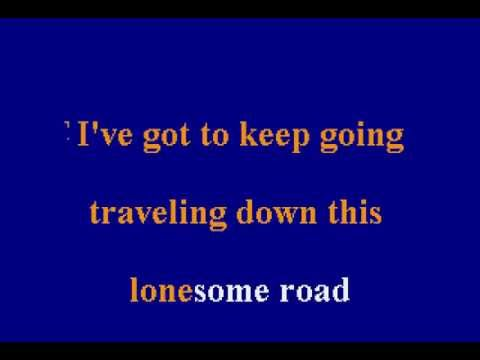 Merle Haggard -  Going Where The Lonely Go - Karaoke