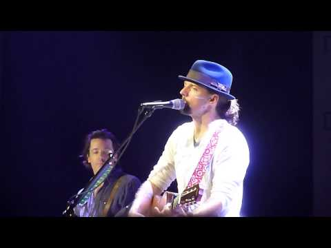 Jason Mraz 14. Novembre 2012 Maag Halle Zurich Who`s Thinking About You Now