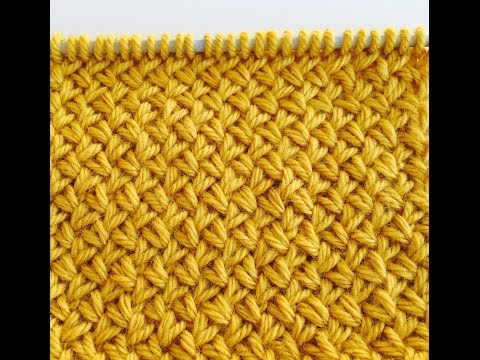 knitting stitch patterns Diagonal basket weave Le POINT DE VANNERIE  Вязать узор мелкая плетенка