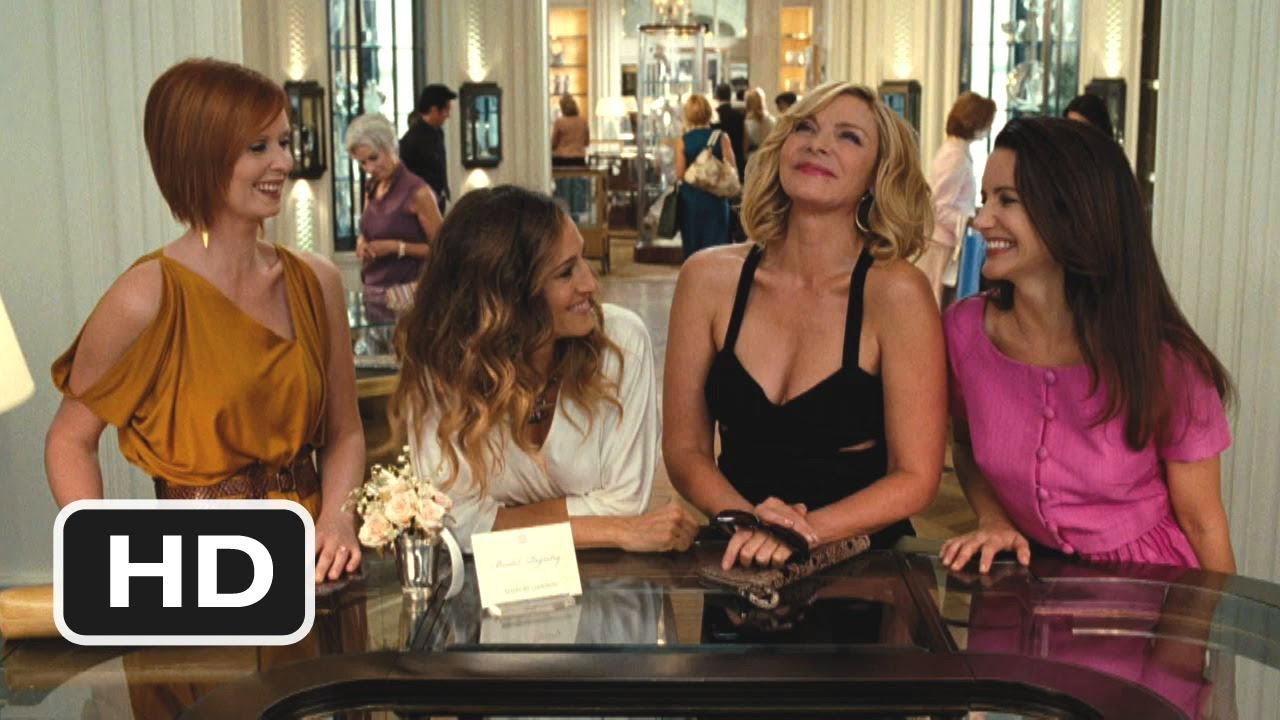 Sex And The City 2 1 Movie Clip Here Come The Gays 2010 Hd Youtube