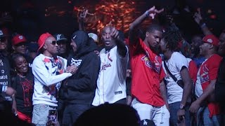 NICK CANNON JUMPS IN HITMAN HOLLA BATTLE VS CASSIDY AT RBE MAX OUT EVENT