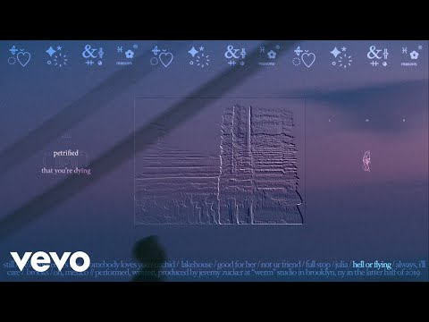 Jeremy Zucker - hell or flying (Official Lyric Video)