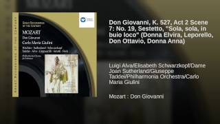Don Giovanni (2002 Remastered Version) , Act II, Scene Two, Sextet: Sola, sola in buio loco...