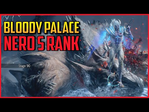DMC5 ▰ Full Bloody Palace S Rank As Nero 【Devil May Cry 5】