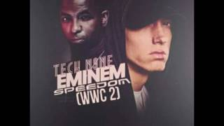 Download Tech N9ne feat. Eminem & Krizz Kaliko - Speedom (SQUEAKY Clean Version) MP3 song and Music Video