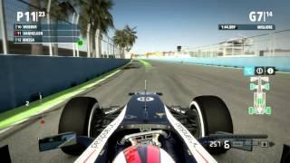 F1 2012 Gameplay Ita PC Gran Premio di Valencia - A Caccia Di Punti -