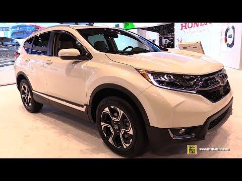 2017 Honda CRV Touring - Exterior and Interior Walkaround - 2017 Chicago Auto Show