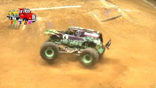 Watching Monster Jam: Monster Jam Donut Competition! Fun Outdoor Activities for Kids! - Stafaband