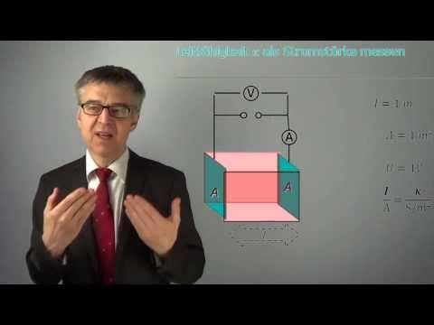 PC57 Von spezifischer Leitfähigkeit bis Ionenleitfähigkeit - Wie gut leiten Elektrolyte den Strom?