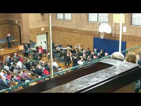 Walden III High School band Christmas concert