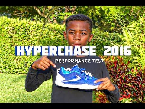 Nike Hyperchase 2016 Peformance Test