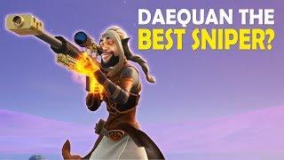 DAEQUAN IS THE BEST SNIPER!?