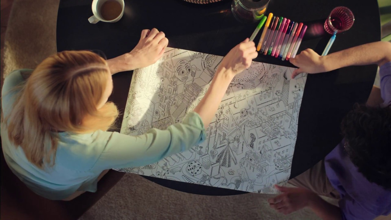 Lustigt Limited Edition Collection Colouring Paper Ikea