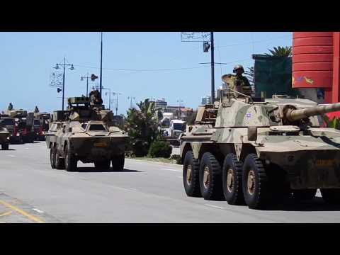 SANDF Armed Forces Day Parade in Port Elizabeth