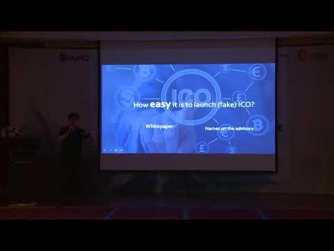 NextICO-ICO platform: Presentation at Hey Blockchain Conference (Hanoi Apr2018)