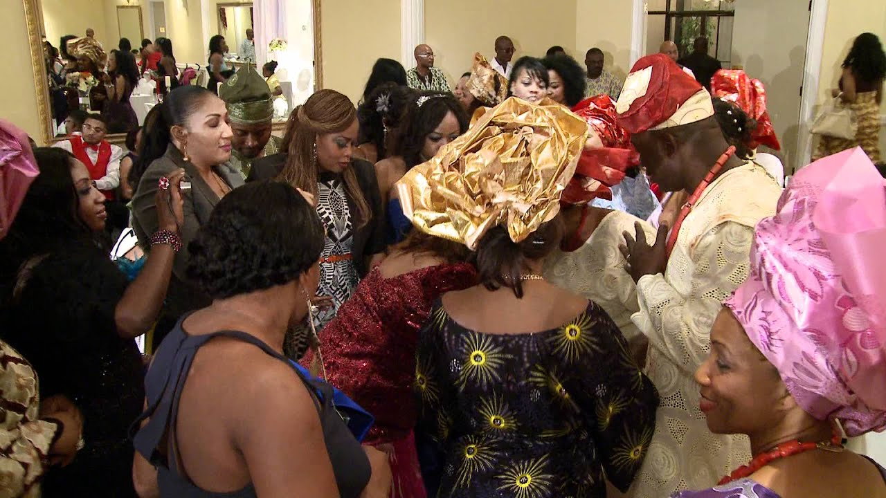 Grand Entrance With Traditional African Nigerian Wedding Outfits Videographer Photographer