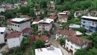 Bursa'daki Sel Felaketinin Bilançosu Havadan Görüntülendi